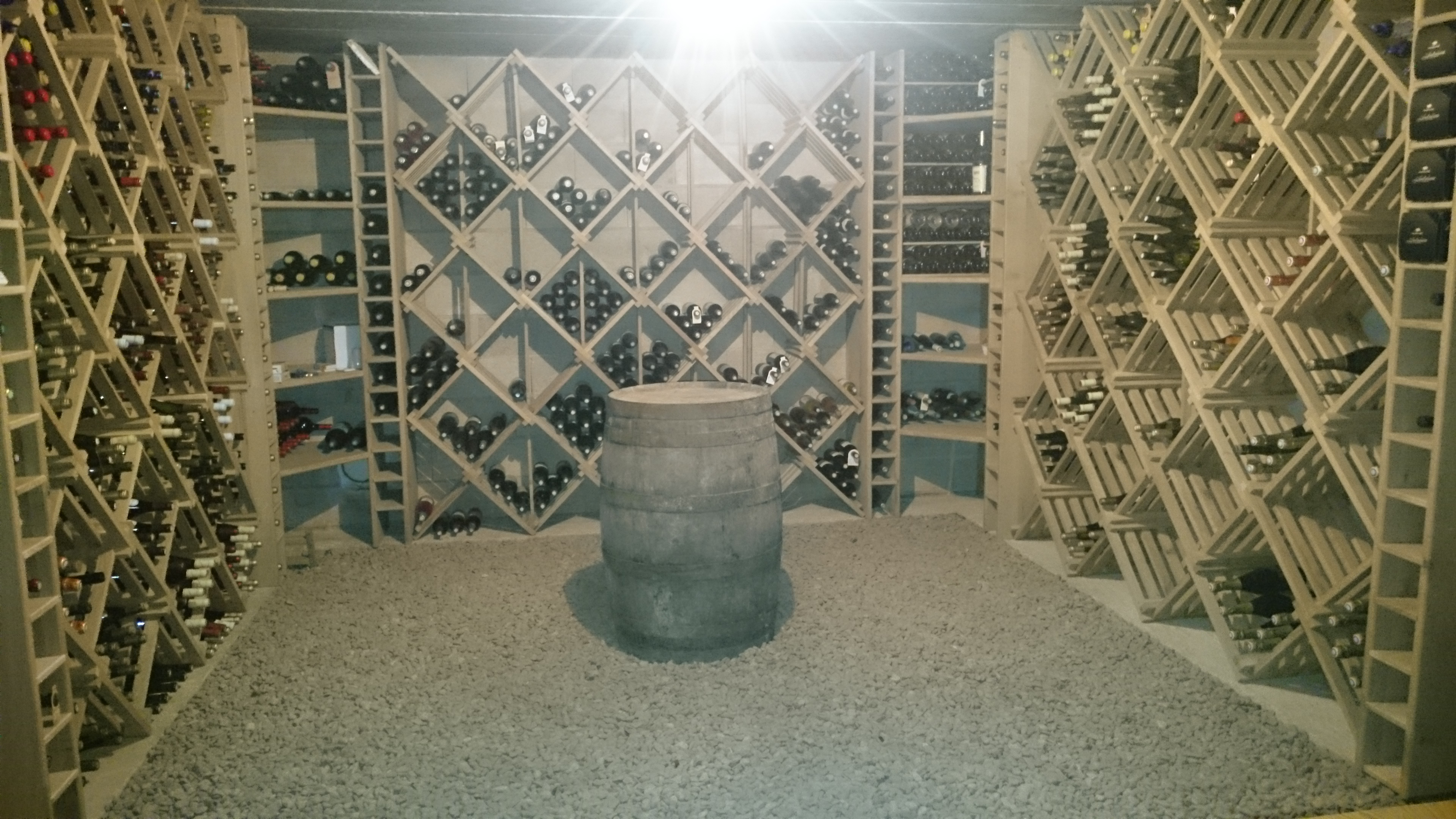 Menuiserie Figard - Fabrication sur mesure - Casier à bouteille - Chêne- Vesoul