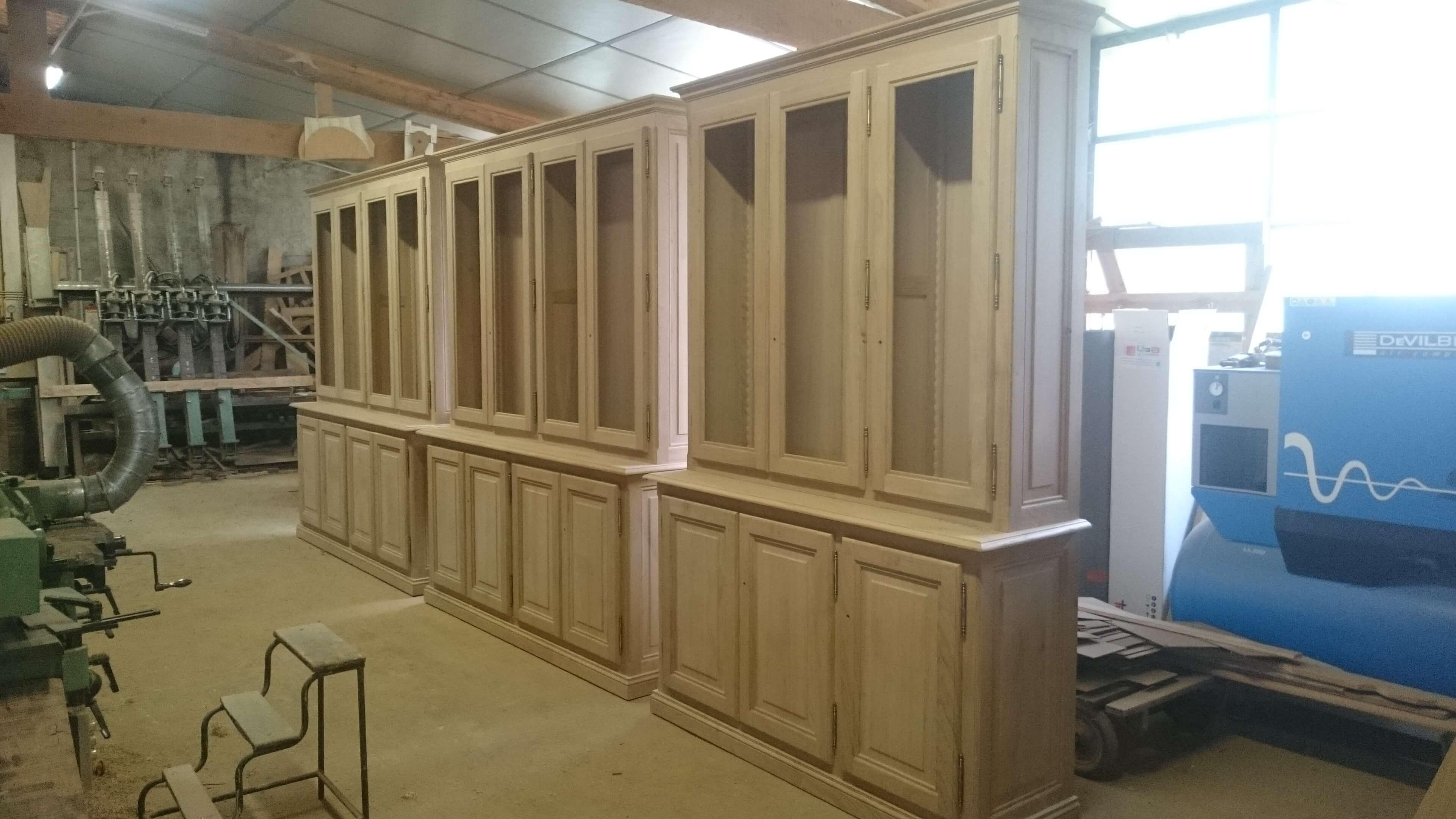Menuiserie Figard - Fabrication sur mesure - Bibliothèque - Chêne - Vesoul